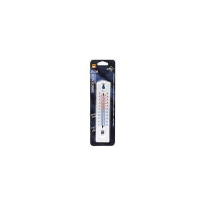 JPC Wandthermometer, aus Polystyrol, weiß