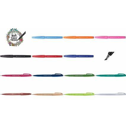 PentelArts Faserschreiber Sign Pen SES15, rot
