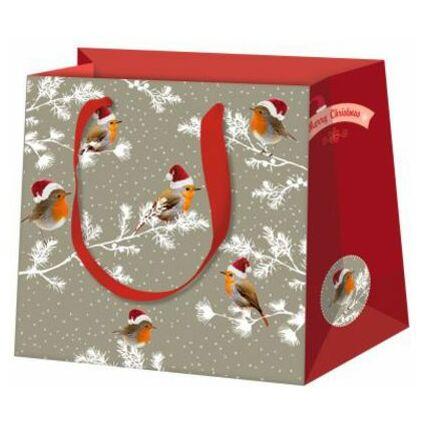 "SUSY CARD Weihnachts-Geschenktüte ""X-mas penguin"""