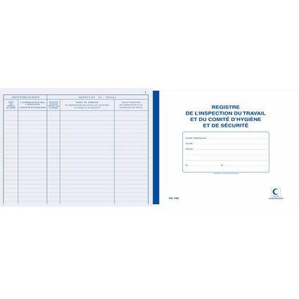 """ELVE Registre """"Inspection du travail et comité d'hygiène et"""