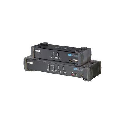 ATEN Multifunktions CubiQ KVM Switch DVI/USB+Audio, 2-fach