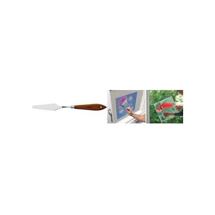 Marabu Malmesser, Klingenlänge: 3,5 cm, Naturholzgriff