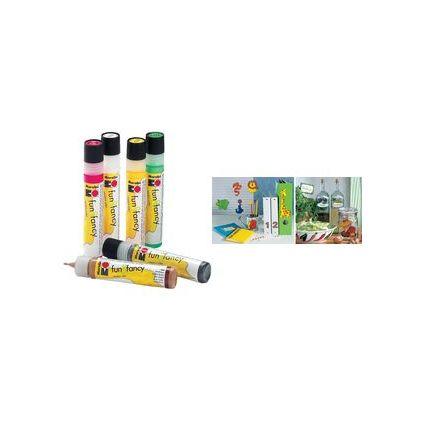 """Marabu Window Color """"fun & fancy"""", 25 ml, gelb"""