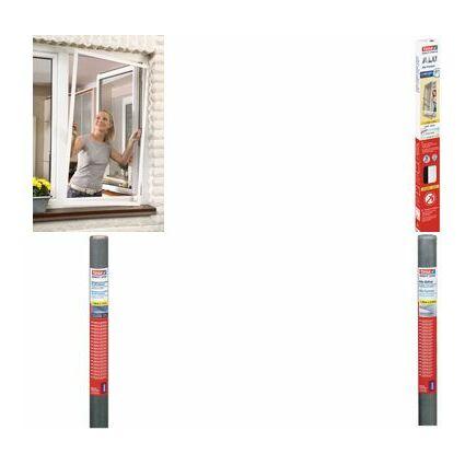 tesa Fliegengitter Nachfüllrolle für Fenster, 1,0 m x 1,2 m