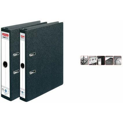 herlitz Hängeordner maX.file, Rückenbreite: 50 mm, schwarz