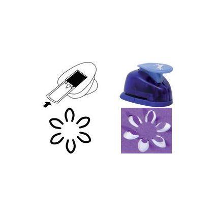 """HEYDA Pop Up Motiv-Locher """"Blume"""", groß"""