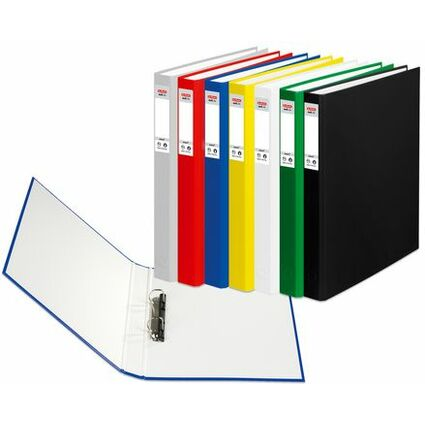 herlitz Ringbuch maX.file protect, A4, 2-Ring-Mechanik, blau