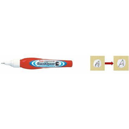 Pentel Fein-Korrekturstift ZLE53-W, Inhalt: 7 ml