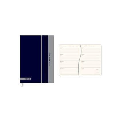 "ROTH Schülerkalender ""School & Study Timer"", Square blau"