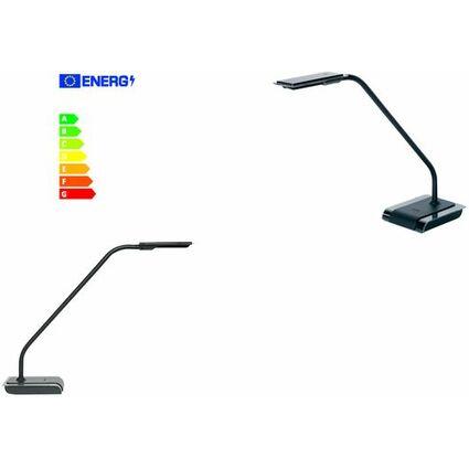 unilux LED Energiespar-Tischleuchte SENSATION, schwarz