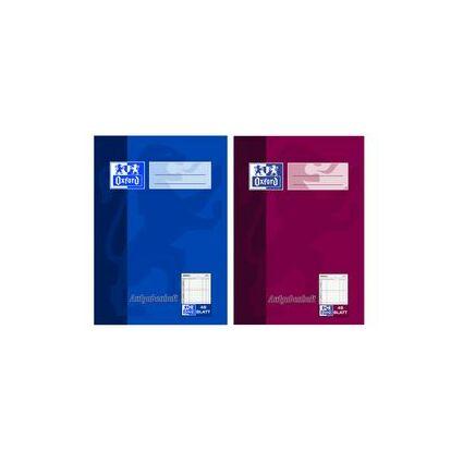Oxford Aufgabenheft, DIN A6, 48 Blatt, farbig sortiert