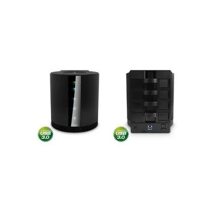 """fantec 3,5"""" SATA Festplatten-Gehäuse SQ-35U3e, USB 3.0"""