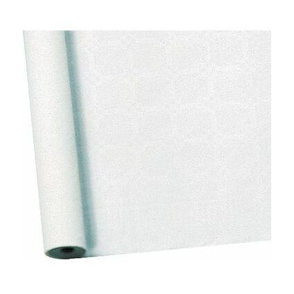 SUSY CARD Damast-Tischtuch, Rolle, 10 x 1 m, weiß