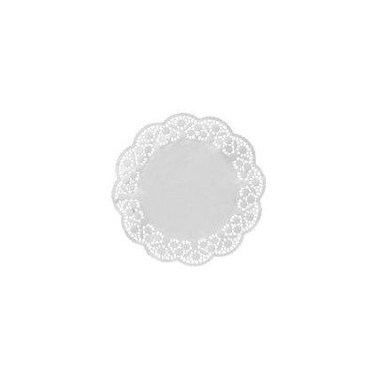 SUSY CARD Tortenspitze, rund, Durchmesser: 360 mm, weiß