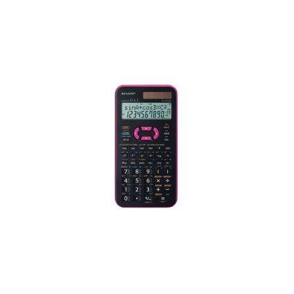 SHARP Schulrechner EL-531 XG, Farbe: pink