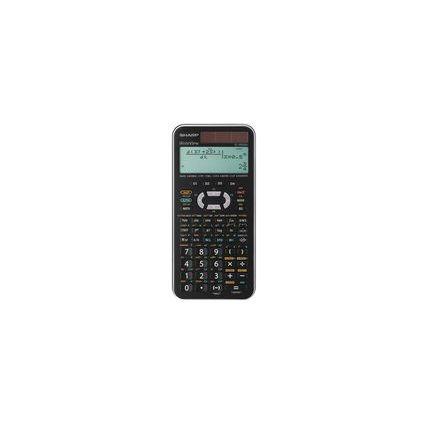 SHARP Schulrechner EL-W506X, Farbe: silber