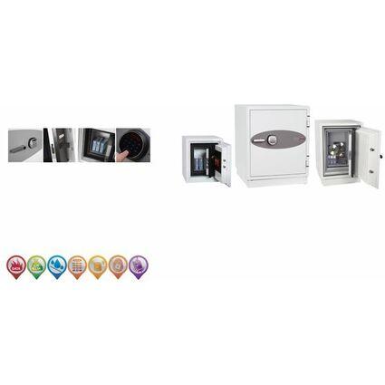 phoenix Datenschutz-Tresor DATACARE DS2003E, signalweiß