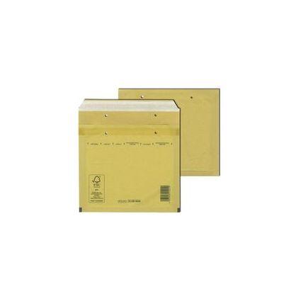 MAILmedia CD-Luftpolster-Versandtaschen, Typ CD, braun, 14 g