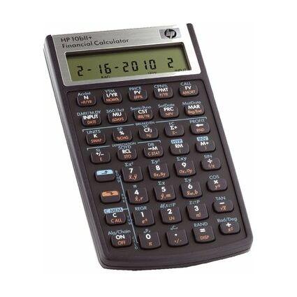 hp Finanzrechner hp 10bII+, Batteriebetrieb