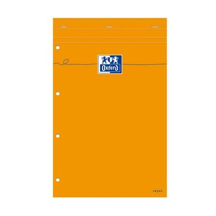 Oxford Notizblock, 210 x 315, seyès, 80 Blatt, orange