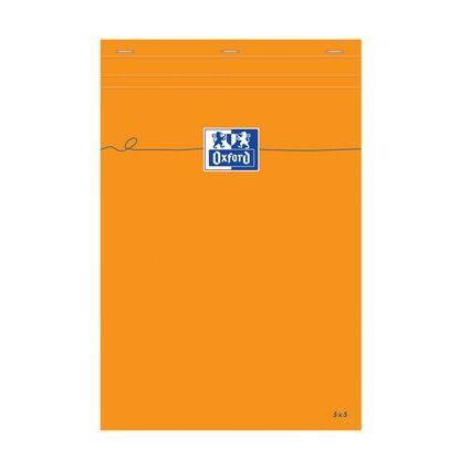 Oxford Notizblock, 210 x 315 mm, blanko, 80 Blatt, orange
