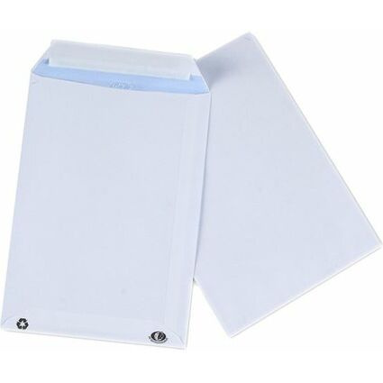 GPV Versandtaschen, C4, 229 x 324 mm, weiß, mit Fenster