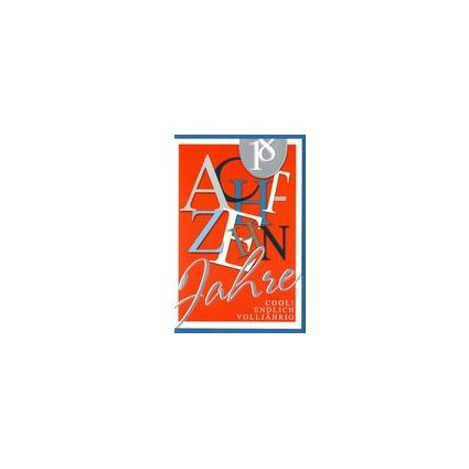 HORN Geburtstagskarte - Moderne Textgestaltung -