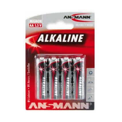 """ANSMANN Alkaline Batterie """"RED"""", Mignon AA, 4er Blister"""