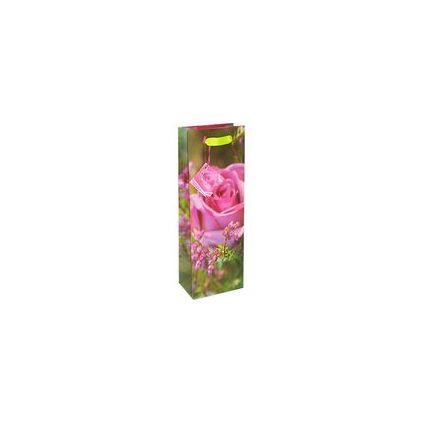 """HORN Flaschentüte """"Rose"""", aus Papier, glänzend"""