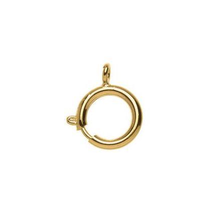 GLOREX Federring, Durchmesser außen: 16 mm, vergoldet