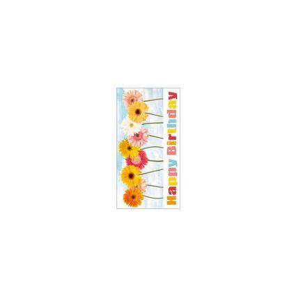 """SUSY CARD Geburtstagskarte """"Gerberas"""""""