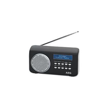 AEG DAB+/UKW PLL-Radio DAB 4130, schwarz