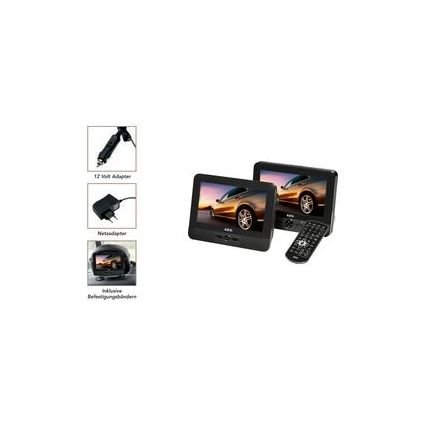 "AEG LCD-Monitor mit integriertem DVD-Player, 7"" (175 mm)"
