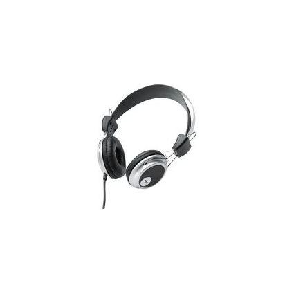 AEG Kopfhörer KH 4220, schwarz/silber