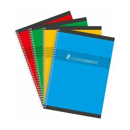 CONQUERANT SEPT Spiralbuch, 240 x 320 mm, kariert, 90 Blatt