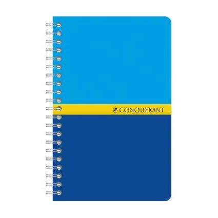 CONQUERANT SEPT Spiralbuch, 90 x 140 mm, kariert, 90 Blatt
