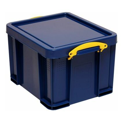 Really Useful Box Aufbewahrungsbox 35 Liter, vollfarbig blau