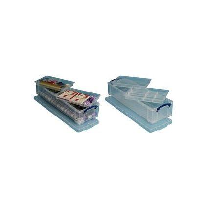Really Useful Box Aufbewahrungsbox mit Einsätzen, 22 Liter
