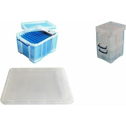 Really Useful Box Aufbewahrungsbox 3er-Set, 35 Liter