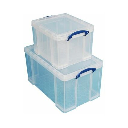Really Useful Box Aufbewahrungsbox 2er-Set, 35 L / 84 Liter