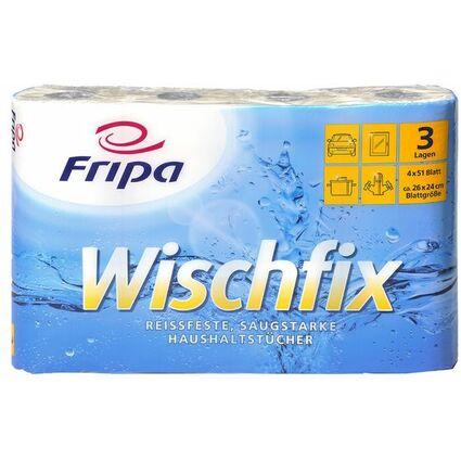 Fripa Küchenrolle Wischfix, 3-lagig, hochweiß
