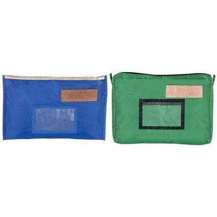 JPC Banktasche, aus Nylon, blau