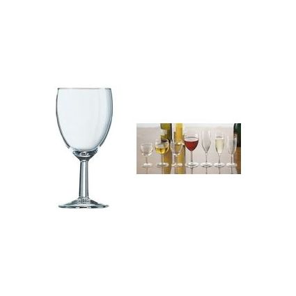 "Esmeyer Arcoroc Rotweinglas ""Ballon"", Inhalt: 0,25 l"