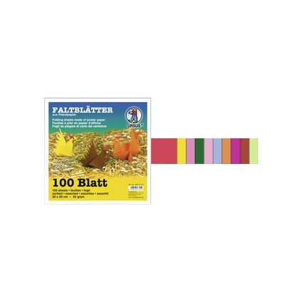 "URSUS Faltblätter ""Intensiv"", (B)150 x (H)150 mm"