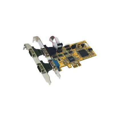 EXSYS Serielle 16C950 RS-232 PCI-Express Karte