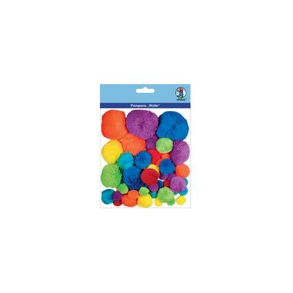 "URSUS Pompon-Set ""Wolle"", farbig sortiert"