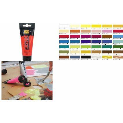 KREUL Acrylfarbe SOLO Goya Acrylic, echtrot, 100 ml