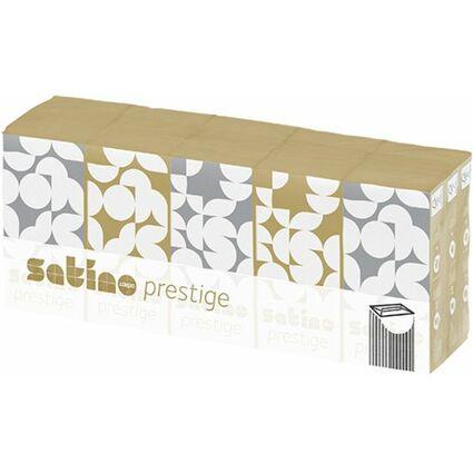 wepa Taschentücher Prestige, 4-lagig, hochweiß, 15er Pack