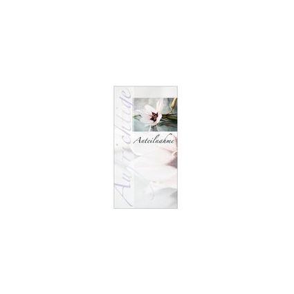 "SUSY CARD Trauerkarte ""Lilie"""