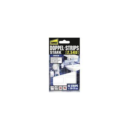 UHU Montage-Klebepads STARK, doppelseitig, hält bis 2,5 kg